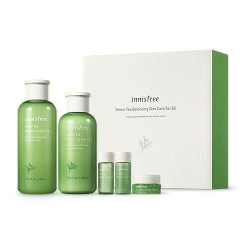 innisfree green tea balancing skin care 2 set